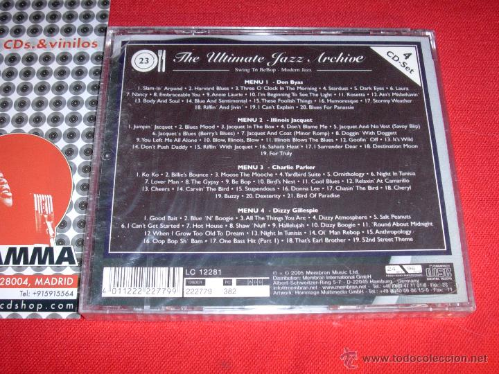VARIOS The Ultimate Jazz Archive - Set 23/42 Compilation 4 X CD 2005 NEW