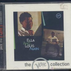 CDs de Música: ELLA FITZGERALD & LOUIS ARMSTRONG- THE VERVE COLLECTION. Lote 45412672