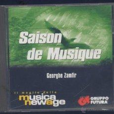 CDs de Música: SAISON DE MUSIQUE- GEORGHE ZAMFIR. Lote 45412850