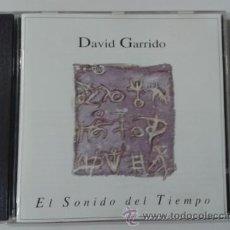CDs de Música: DAVID GARRIDO - EL SONIDO DEL TIEMPO 1994 CD SONIFOLK AMBIENT ELECTRÓNIC EXPERIMENTAL PROGRESIVE. Lote 45413429