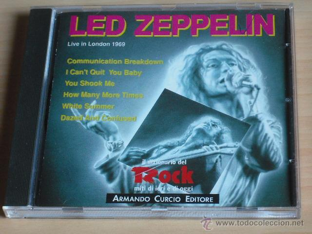 LED ZEPPELIN - LIVE IN LONDON 1969 (CD) COMO NUEVO!!! (Música - CD's Rock)