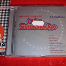 CDs de Música: THE VERY BEST OF CHIC AND SISTER SLEDGE COMPILATION 1999 CD NEW. Lote 45435205