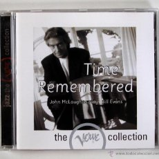 CDs de Música: JOHN MCLAUGHLIN - TIME REMEMBERED (CD). Lote 45435764