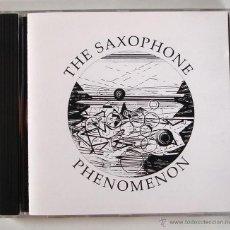 CDs de Música: THE SAXOPHONE PHENOMENON - LOL COXHILL - ELTON DEAN - PAUL DUNMALL - EVAN PARKER (CD SLAM). Lote 45437560