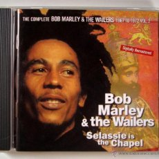 CDs de Música: THE COMPLETE BOB MARLEY AND THE WAILERS - SELASSIE IS THE CHAPEL (CD). Lote 45451165