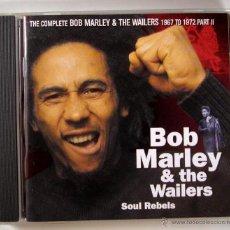 CDs de Música: BOB MARLEY AND THE WAILERS - SOUL REBELS (CD). Lote 45451213