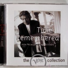 CDs de Música: JOHN MCLAUGHLIN - TIME REMEMBERED (CD). Lote 45455902