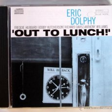 CDs de Música: ERIC DOLPHY - OUT TO LUNCH (CD). Lote 45473461