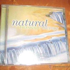 CDs de Música: NATURAL MASSAGE THERAPY. SOLITUDES. MUSIC FOR YOUR HEALTH. CD EDICION EXTRANJERA. Lote 45485292