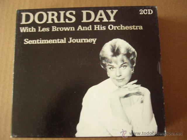 DORIS DAY. WITH LES BROWN AND HIS ORCHESTRA. SENTIMENTAL JOURNEY. 2 CD. (Música - CD's Melódica )