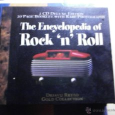 CDs de Música: CD.DOBLE.THE ENCYCLOPEDIA OF ROCK N ROLL-2CD DELUXE EDITION 20 PAGE BOOCLET. Lote 45525261