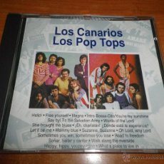 CDs de Música: LOS CANARIOS LOS POP TOPS CD ALBUM COLECCION PLANETA AGOSTINI 1993 GRANDES EXITOS 17 TEMAS. Lote 45528281