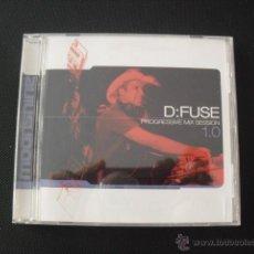 CDs de Música: D: FUSE PROGRESSIVE MIX SESSION 1.0. CD.. Lote 45536468