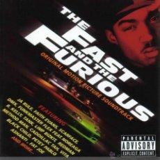 CDs de Música: THE FAST & THE FURIOUS * CD * BANDA SONORA ORIGINAL * PRECINTADA. Lote 45539527