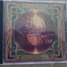 CDs de Música: HEROES DEL SILENCIO - EL ESPIRITU DEL VINO - 1993 - ESPAÑA - EX+/EX+. Lote 45544294