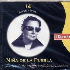 CDs de Música: GRANDES CLASICOS DEL CANTE FLAMENCO - VOL. 14 (PRECINTADO) VER TEMAS. Lote 121260084