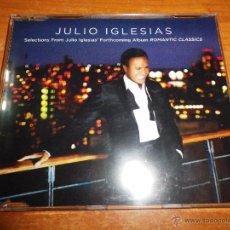 CDs de Música: JULIO IGLESIAS EVERYBODY´S TALKING CD SINGLE PROMO DEL AÑO 2006 PORTADA DE PLASTICO CONTIENE 3 TEMAS. Lote 176743324