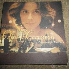 CDs de Música: SUS OJOS SE CERRARON LOS MEJORES TANGOS DE CARLOS GARDEL CD PROMO BANDA SONORA ORIGINAL1997 DIGIPACK. Lote 221761206