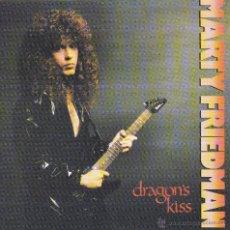 CDs de Música: MARTY FRIEDMAN - DRAGON'S KISS - CD. Lote 45620996