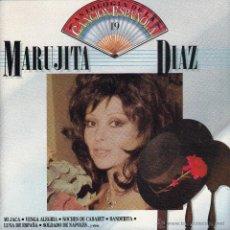 CDs de Música: MARUJITA DIAZ - ANTOLOGIA DE LA CANCION ESPAÑOLA, VOL. 19 - CD. Lote 45621021
