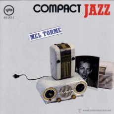CDs de Música: MEL TORME - COMPACT JAZZ - CD. Lote 45623115
