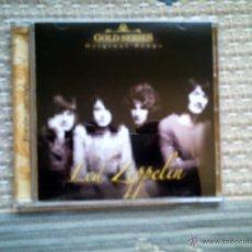 CDs de Música: CD LED ZEPPELIN: GOLD SERIES. ORIGINAL SONGS. Lote 125017278