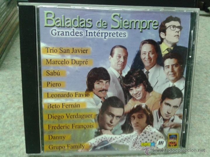 BALADAS DE SIEMPRE GRANDES INTÉRPRETES (Música - CD's Latina)