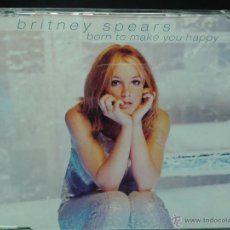 CDs de Música: BRITNEY SPEARS BORN TO MAKE YOU HAPPY. Lote 45641885
