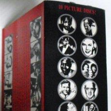CDs de Música: ESTUCHE CON 10 CD'S, SWING TIME LO MEJOR DE LOS AÑOS 50 Y 60 BLUES, JAZZ, COUNTRY POP ETC.. Lote 45651358