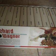 CDs de Música: RICHARD WAGNER. THE COMPLETE OPERAS. CAJA CON 43 CDS. ALEMANIA.. Lote 45652325
