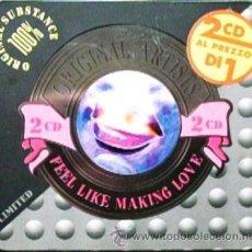CDs de Música: 2 CD'S FEEL LIKE MAKING LOVE (CANCIONES ROMANTICAS) EDITADO EN ITALIA 40 TEMAS EN ESTUCHE METALICO. Lote 45652332