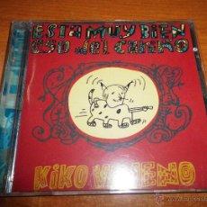 CDs de Música: KIKO VENENO ESTA MUY BIEN ESO DEL CARIÑO CD ALBUM DEL AÑO 1995 CONTIENE 10 TEMAS RAIMUNDO AMADOR. Lote 146873186