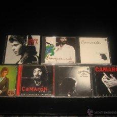 CDs de Música: 7 ALBUMS CD CAMARON DE LA ISLA LA LEYENDA DEL TIEMPO , FLAMENCO VIVO .... Lote 37583404