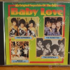 CDs de Música: BABY LOVE. SUPERHITS OF THE 60'S. CD / DUCHESSE - 1988. 16 TEMAS. CALIDAD LUJO.. Lote 45659133