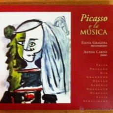 CDs de Música: PICASSO Y LA MÚSICA - FALLA, NIN, GRANADOS, ALBÉNIZ, SATIE, STRAVINSKY, DEBUSSY.... Lote 45675553