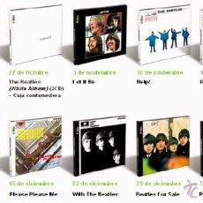 CDs de Música: THE BEATLES - TODOS LOS ALBUMES ORIGINALES REMASTERIZADOS. Lote 45677805