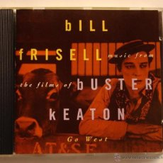 CDs de Música: BILL FRISELL BAND - MUSIC FROM THE FILMS OF BUSTER KEATON , GO WEST (CD). Lote 45681859