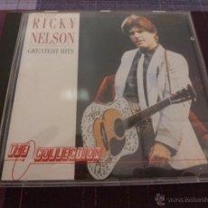 CDs de Música: CD- RICKY NELSON GREATEST HITS-FOTOS. Lote 45683817