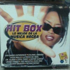 CDs de Música: HIT BOX LO MEJOR DE LA MÚSICA NEGRA. Lote 45693587