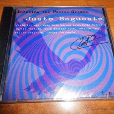CDs de Música: JUSTO BAGÜESTE INDUCING THE POETIC DREAMS CD PRECINTADO LUIS EDUARDO AUTE JAVIER CORCOBADO POEMAS. Lote 45719443