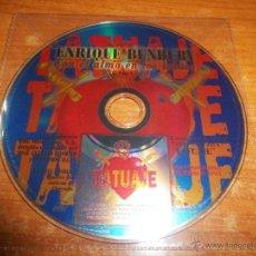 CDs de Música: BUNBURY CON EL ALMA EN LOS LABIOS CD SINGLE PROMOCIONAL PICTURE HEROES DEL SILENCIO MUY RARO 1 TEMA. Lote 45743681