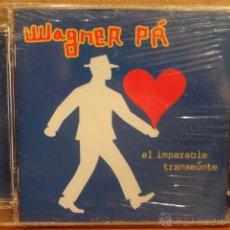 CDs de Música: WAGNER PÁ. EL IMPARABLE TRANSEÚNTE. 12 TEMAS. EDICIÓN LIMITADA. PRECINTADO.. Lote 45755941