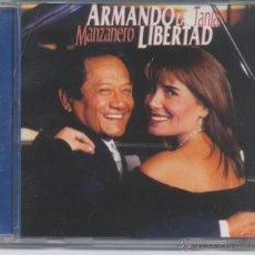 CDs de Música: ARMANDO MANZANERO Y TANIA,ARMANDO LA LIBERTAD DEL 2003. Lote 45760274
