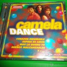 CDs de Música: CAMELA DANCE REMIXES CD ALBUM DEL AÑO 1998 CONTIENE 9 TEMAS MEGA MIX BY JAVIER USSIA. Lote 130854785