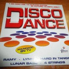 CDs de Música: DISCO DANCE CD SINGLE PROMOCIONAL 2003 HARD IN TANGO / LYNN / RAMY / 4 STRINGS / LUNAR BASE 5 TEMAS. Lote 45784704