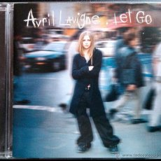 CDs de Música: AVRIL LAVIGNE, LET GO - CD. Lote 45797965