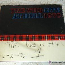 CDs de Música: THE WHO: LIVE AT HULL 1970 - DOBLE CD DIGIPACK *IMPECABLE*. Lote 45813107