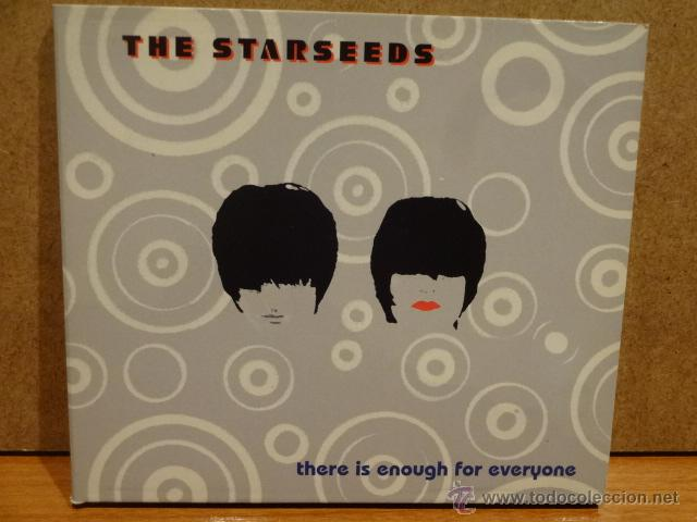 THE STARSEEDS. THERE IS ENOUGH FOR EVERYONE. DIGIPACK-CD / MILLENIUM - 2000. 11 TEMAS. CALIDAD LUJO. (Música - CD's New age)