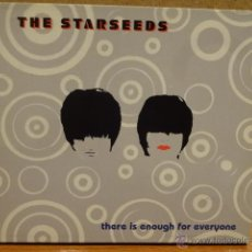 CDs de Música: THE STARSEEDS. THERE IS ENOUGH FOR EVERYONE. DIGIPACK-CD / MILLENIUM - 2000. 11 TEMAS. CALIDAD LUJO.. Lote 45818872