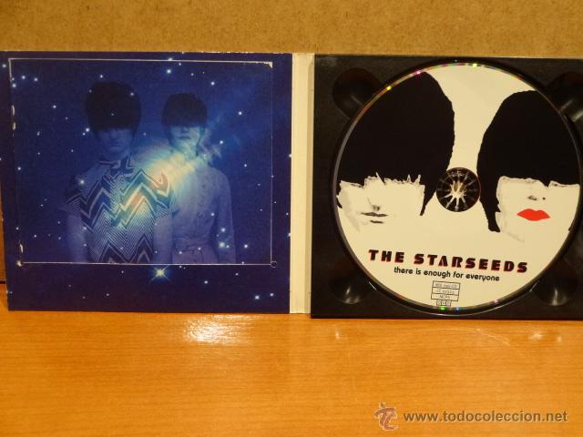 CDs de Música: THE STARSEEDS. THERE IS ENOUGH FOR EVERYONE. DIGIPACK-CD / MILLENIUM - 2000. 11 TEMAS. CALIDAD LUJO. - Foto 2 - 45818872